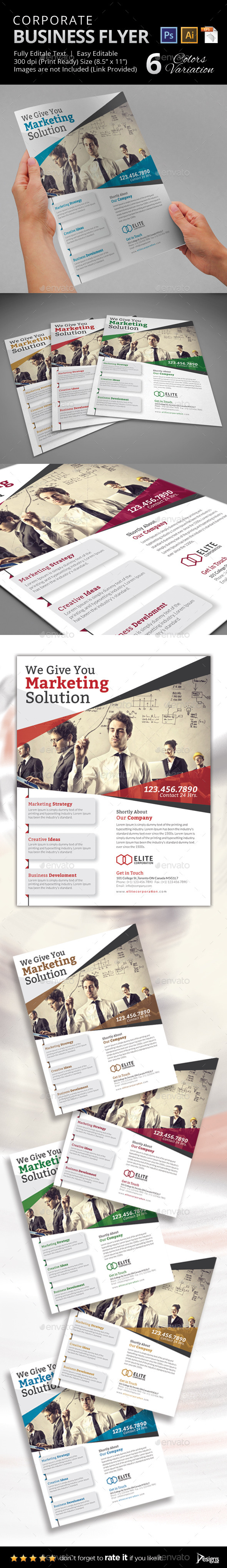 GraphicRiver Multipurpose Business Flyer 36 10750641