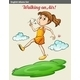 Girl Walking on Air - GraphicRiver Item for Sale
