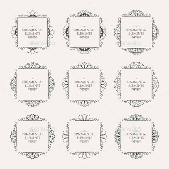GraphicRiver Calligraphic Design Elements 10750930