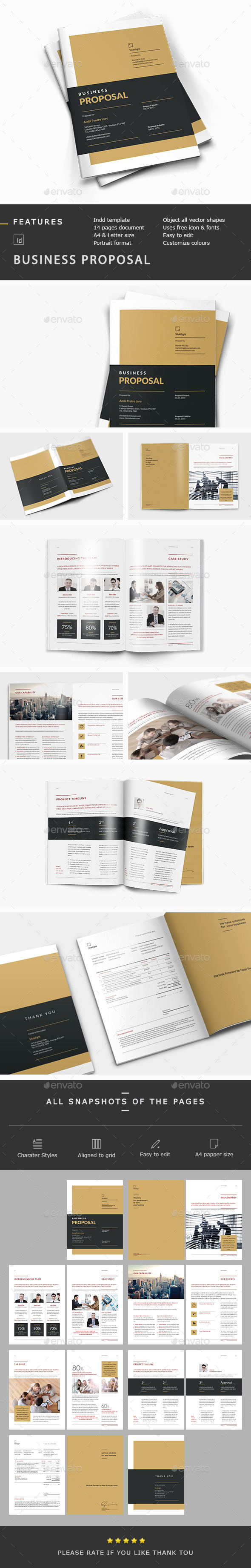 GraphicRiver SilukEight Business Proposal 10682060