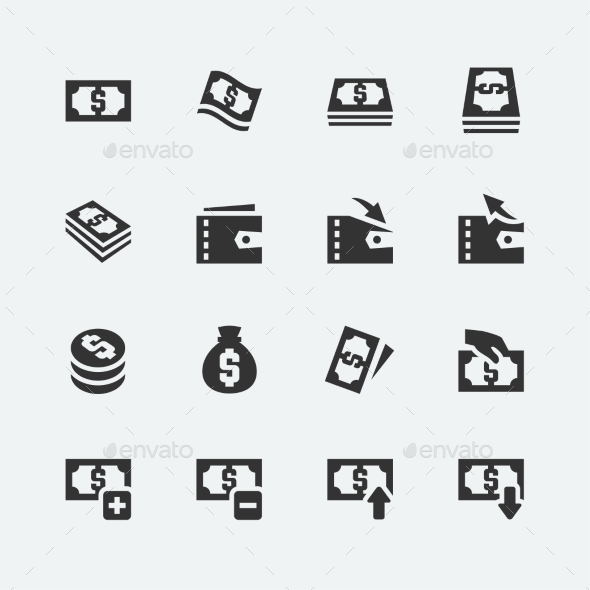 GraphicRiver Money Icons 10750984