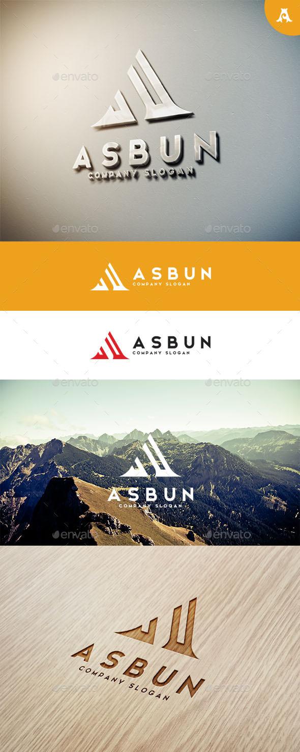 GraphicRiver Asbun Logo 10751372