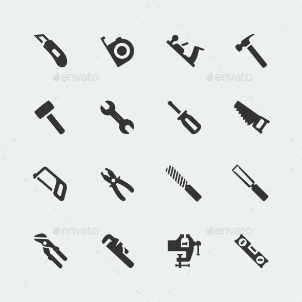 GraphicRiver Tools Set 10751496