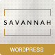 Savannah - Responsive WordPress vCard Portfolio - ThemeForest Item for Sale