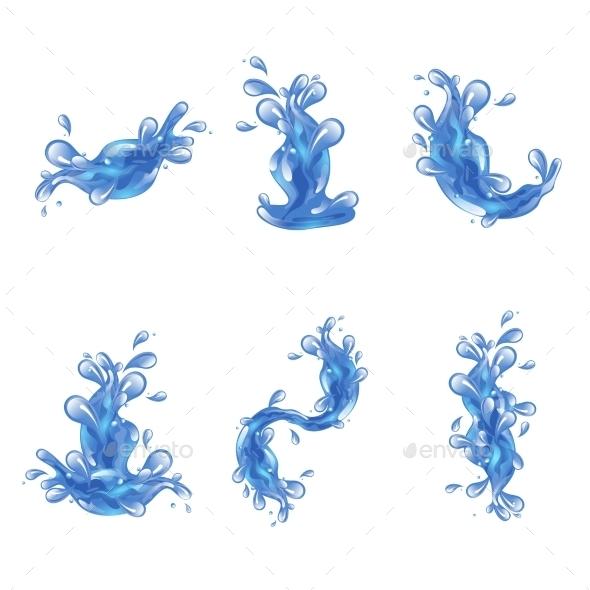 GraphicRiver Water Splash Set 10752058