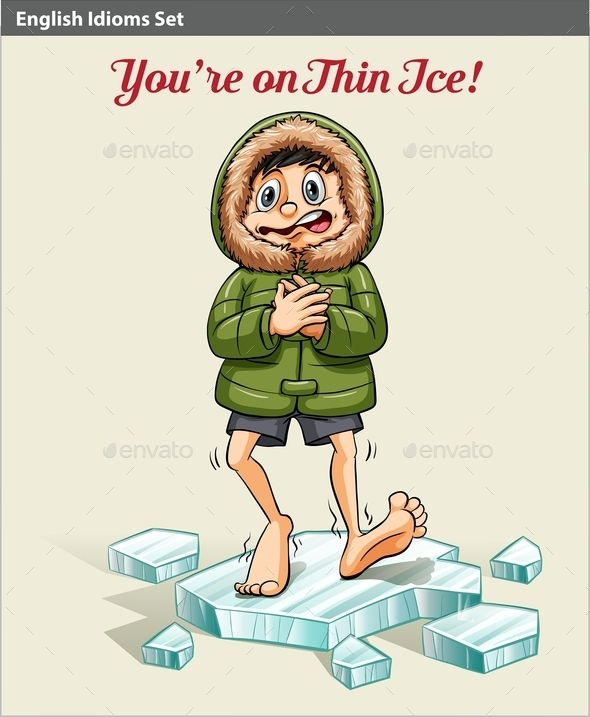 GraphicRiver Boy Above the Ice Block 10752228