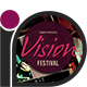 Grunge Party Flyer • Vision Festival - GraphicRiver Item for Sale