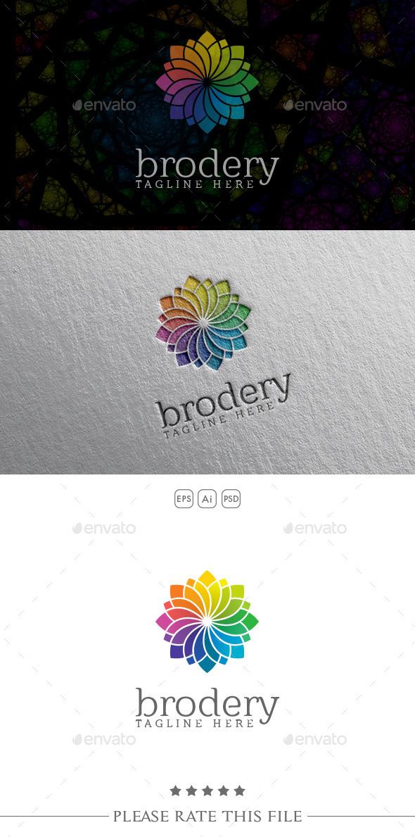 GraphicRiver Colored Flower Logo 10752532