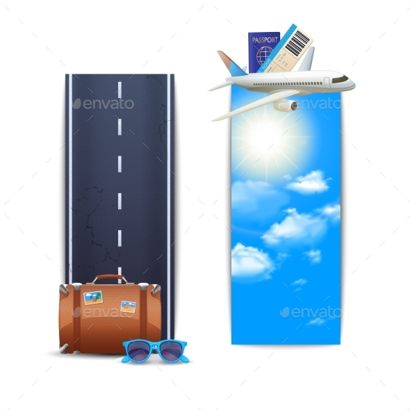 GraphicRiver Vertical Travel Banners 10752827
