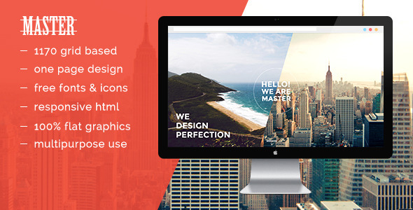 ThemeForest Master HTML5 Template 10671506
