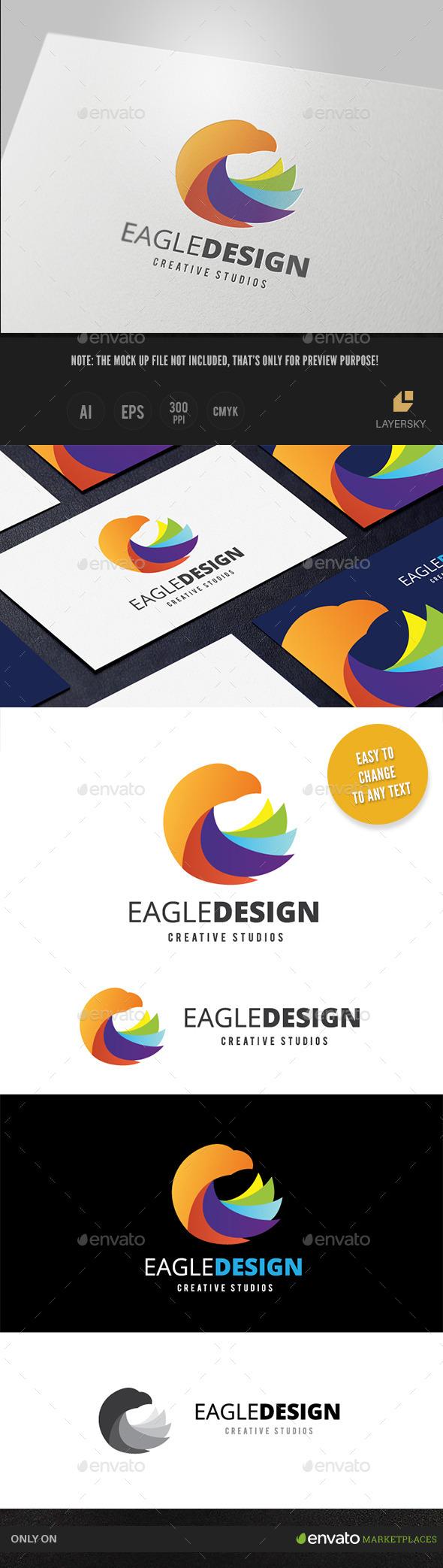 GraphicRiver Eagle Design 10752972