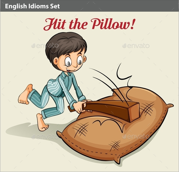 GraphicRiver Hitting the Pillow 10753091