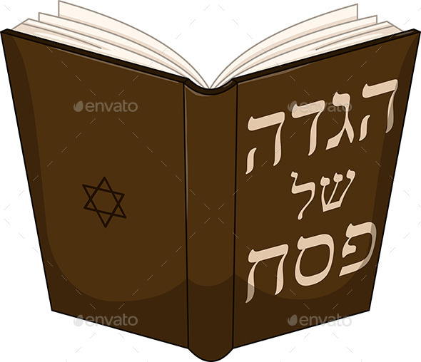 GraphicRiver Haggdah Book for Passover 10753279