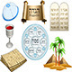 Passover Symbols Pack - GraphicRiver Item for Sale