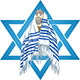 Star of David Rabbi With Talit - GraphicRiver Item for Sale