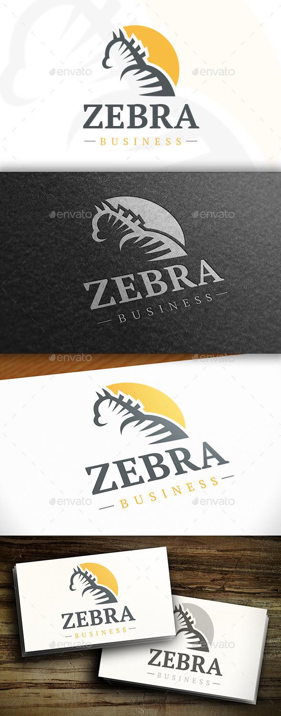 GraphicRiver Zebra Logo 10753497