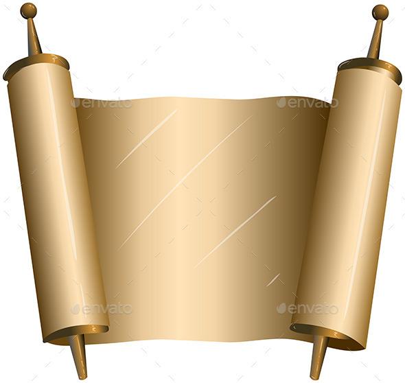 GraphicRiver Traditional Jewish Torah Scroll 10753538