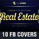 10 in 1 Real Estate Facebook Covers 2 - GraphicRiver Item for Sale