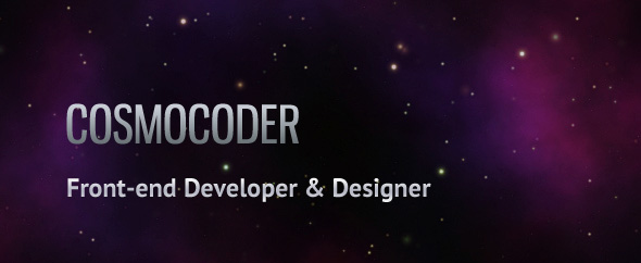 Cosmocoder-homepage