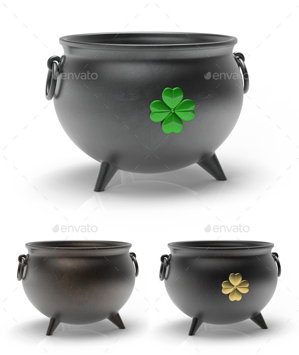 GraphicRiver St Patricks Day Cauldron 10754169