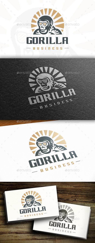 GraphicRiver Geek Gorilla Logo 10754249