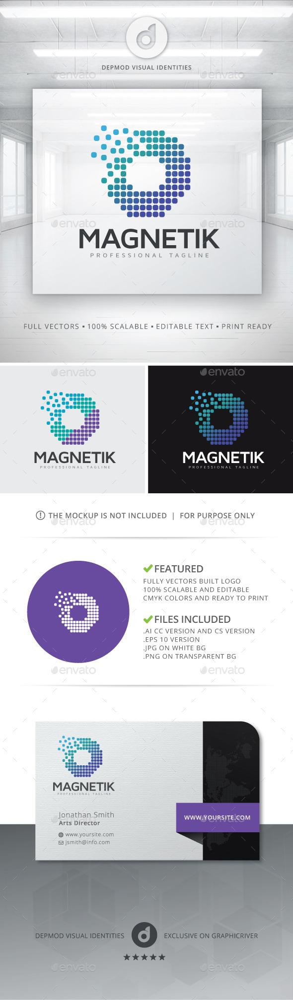 GraphicRiver Magnetik Logo 10754276
