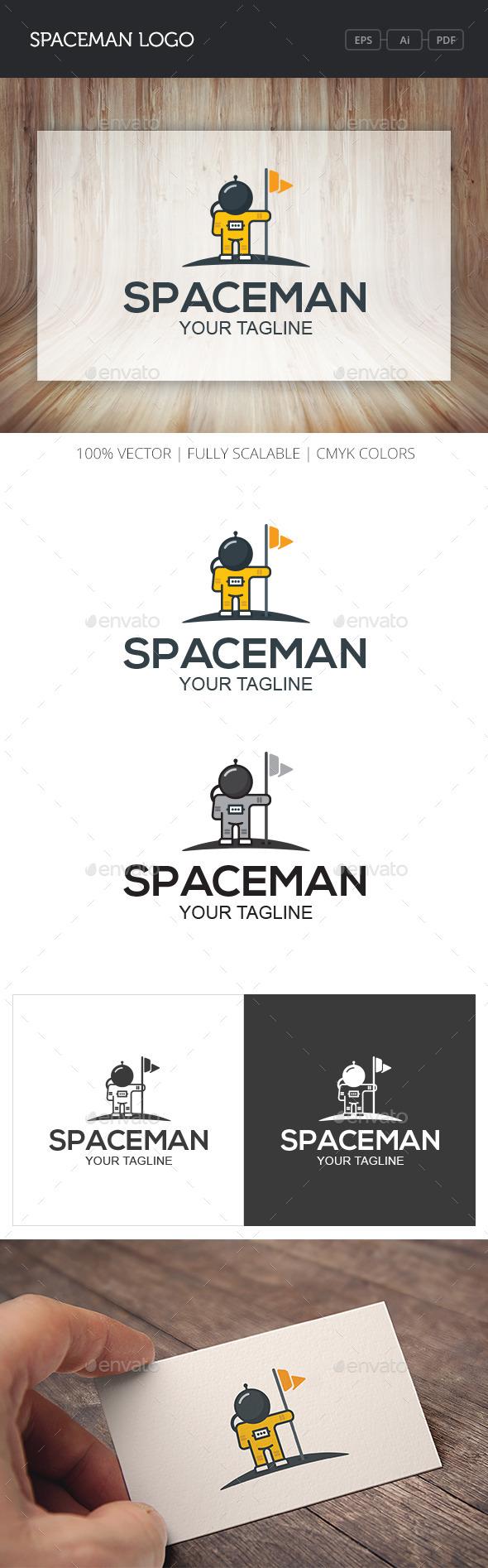 GraphicRiver Spaceman Logo 10754433