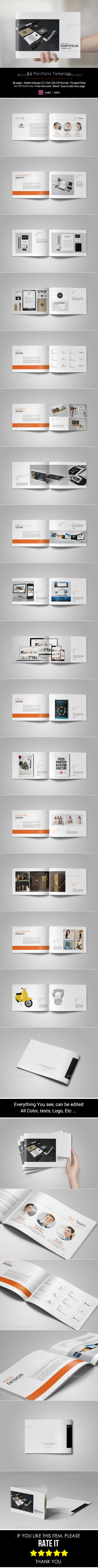 GraphicRiver Portfolio Brochure Template 10754501