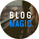 BlogMagic - Clean and Modern WordPress Blog Theme - ThemeForest Item for Sale