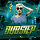 Dubstep CD Cover - GraphicRiver Item for Sale