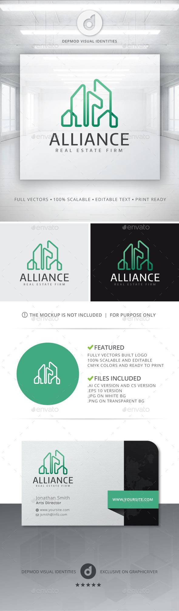 GraphicRiver Alliance Logo 10755054