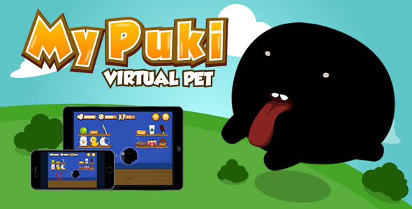 CodeCanyon My Puki Virtual Pet HTML5 Game 10755157