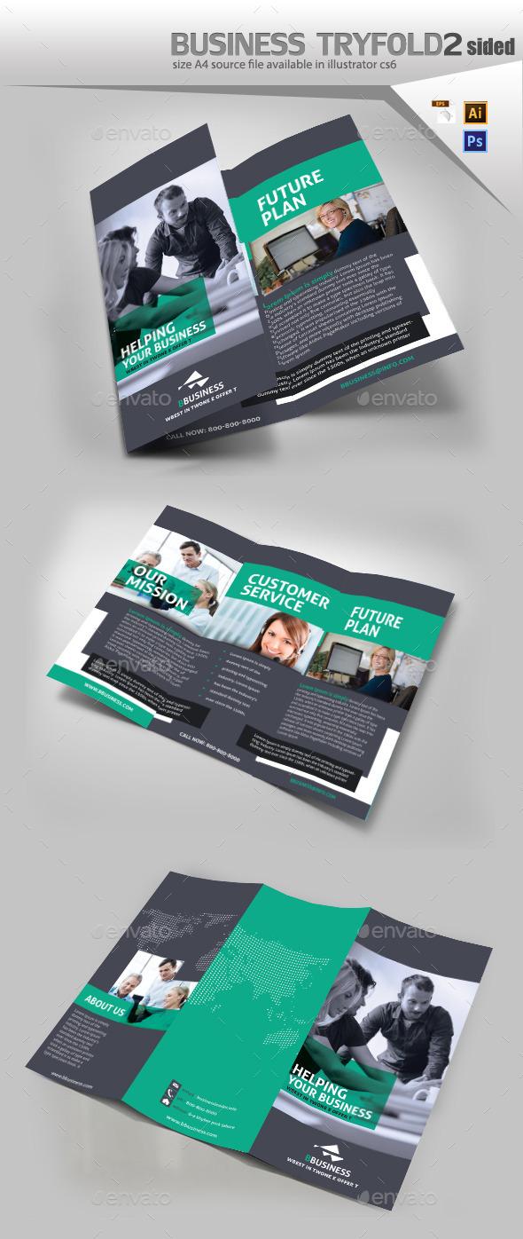 GraphicRiver Corporate Three Fold Brochure 10755166
