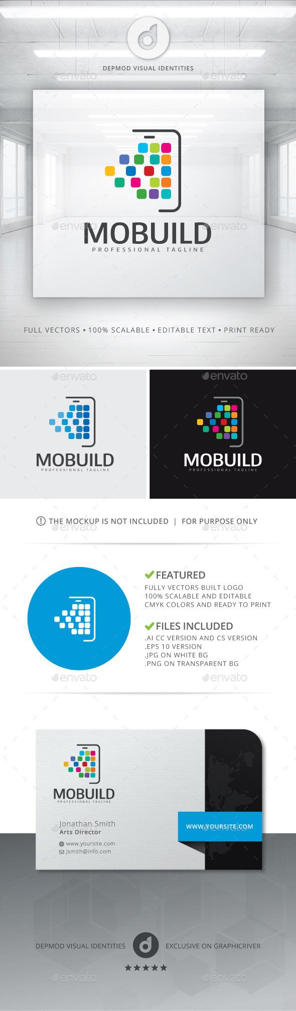 GraphicRiver Mobuild Logo 10755281
