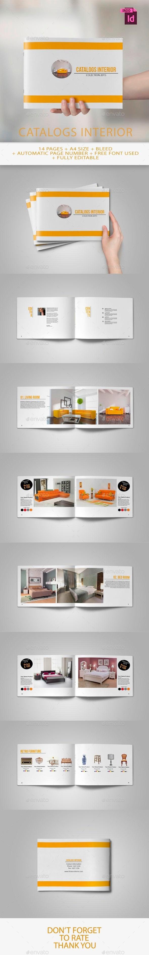 GraphicRiver Catalogs Interior 10755329