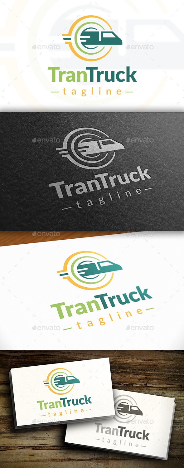 GraphicRiver Transport Logo 10755355
