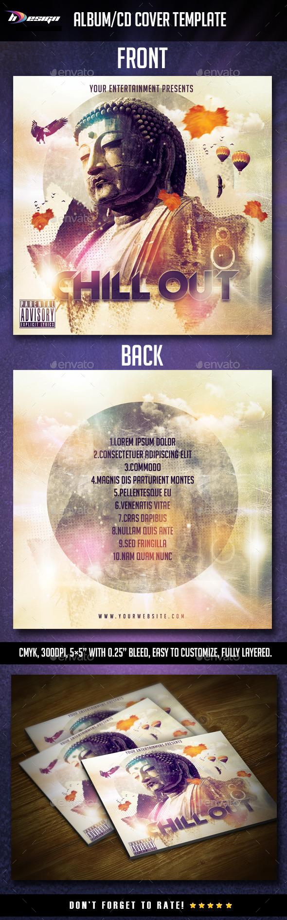 GraphicRiver Chill out album cd cover 10755366
