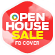 Real Estate Open House Facebook Covers - 5 Designs - GraphicRiver Item for Sale