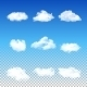 Set of Transparent Clouds - GraphicRiver Item for Sale