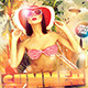 Summer vibe album cd cover - GraphicRiver Item for Sale