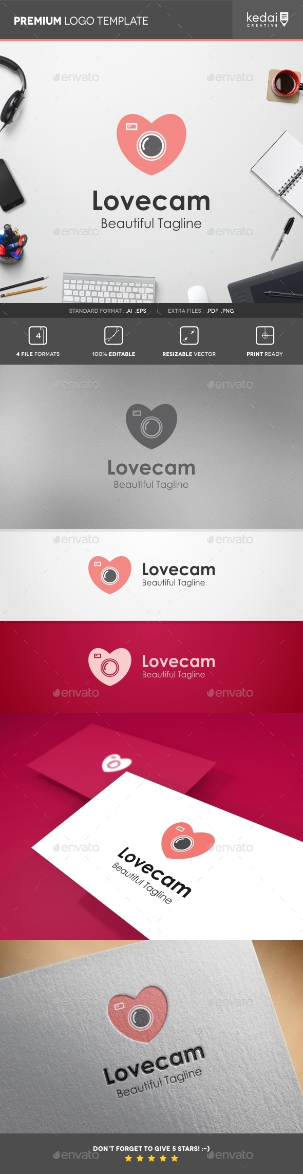 GraphicRiver Love Cam 10755683