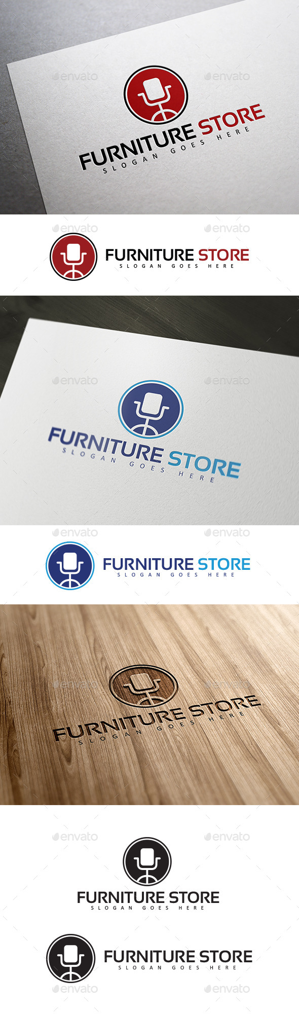 GraphicRiver Furniture & Interior Logo 10755687