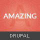 Amazing - One & Multipage Parallax Drupal Theme - ThemeForest Item for Sale