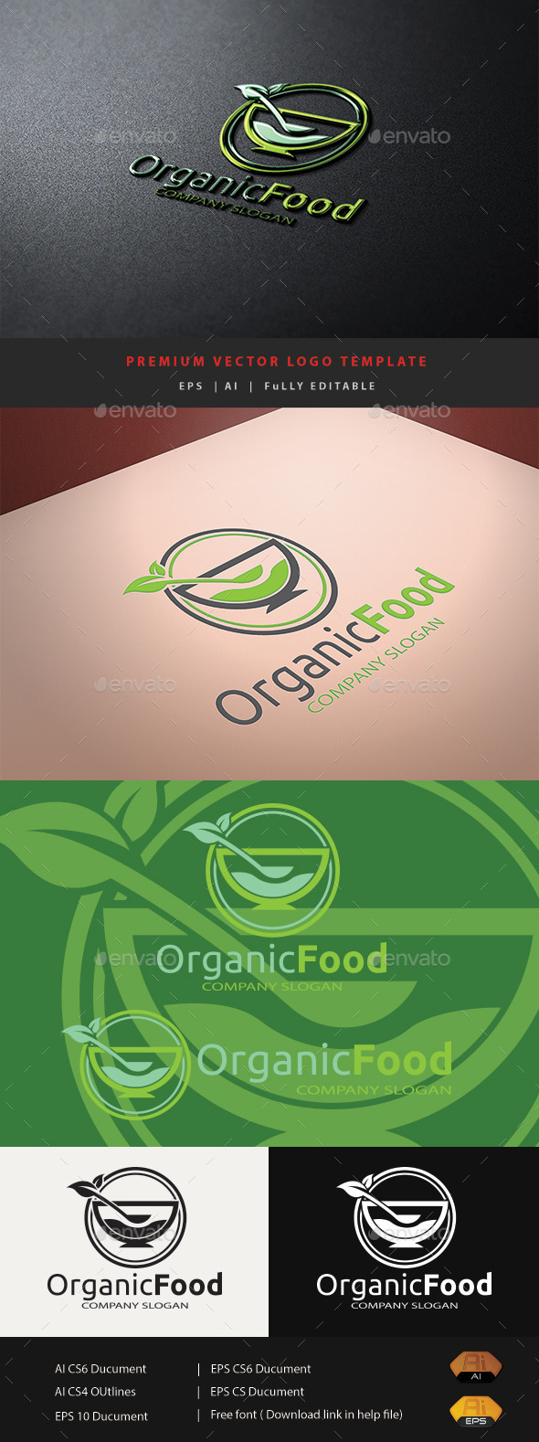 GraphicRiver Organic Food V.2 10756144