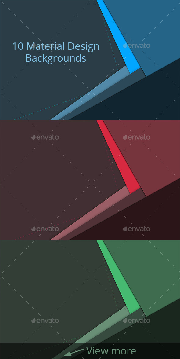 GraphicRiver 10 Material Design Backgrounds 10756223
