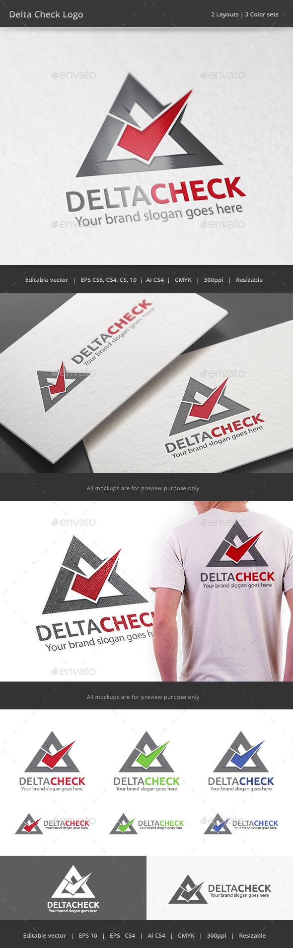 GraphicRiver Delta Check Logo 10756388