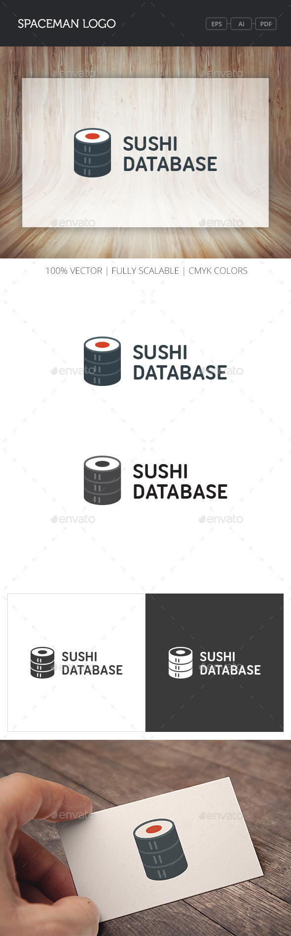 GraphicRiver Sushi Database Logo 10756405