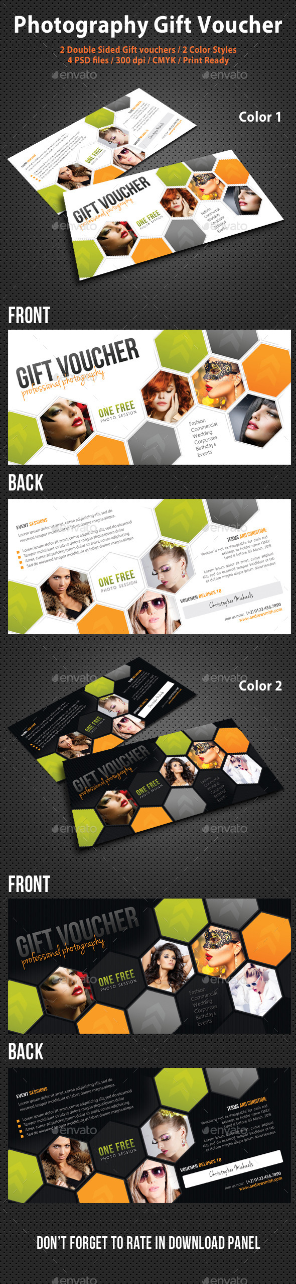 GraphicRiver Photography Studio Gift Voucher 07 10756556