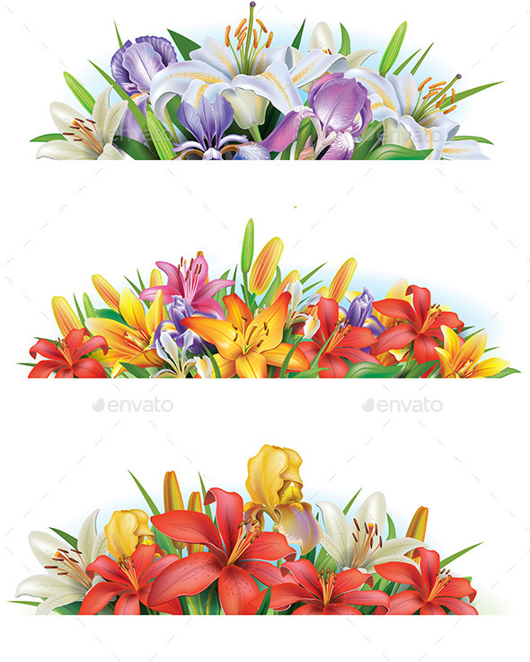 GraphicRiver Flower Banners 10756674