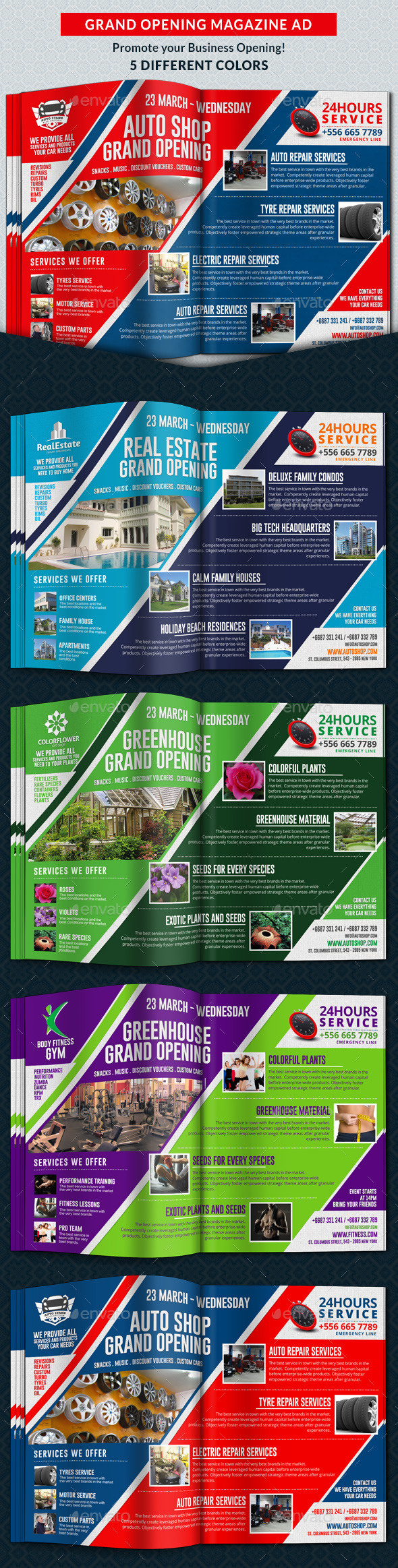 GraphicRiver Agency & Shop Grand Opening Magazine Ad 10685269